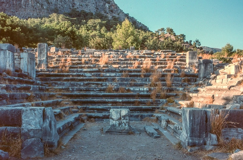 شهر باستانی پرینه در امپراطوری اونی