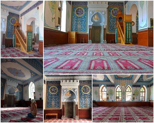 مسجد جمعه تفلیس تنها مسجد فعال شهر
