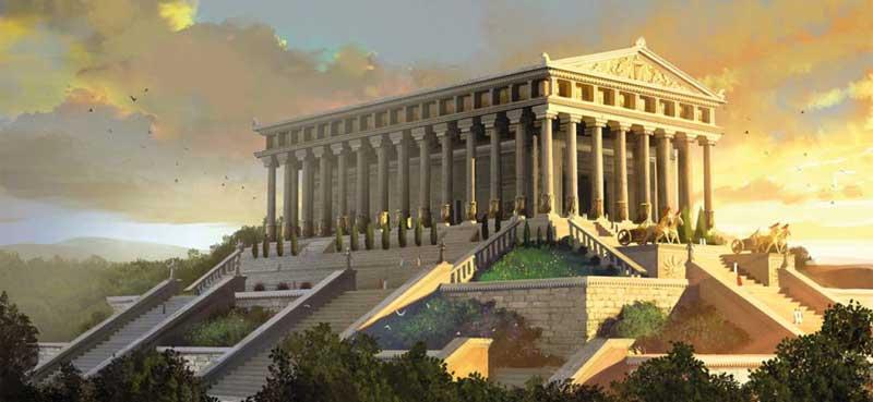 نیایشگاه و معبد آرتمیس محلی برای پرستش بانوی شرقی!