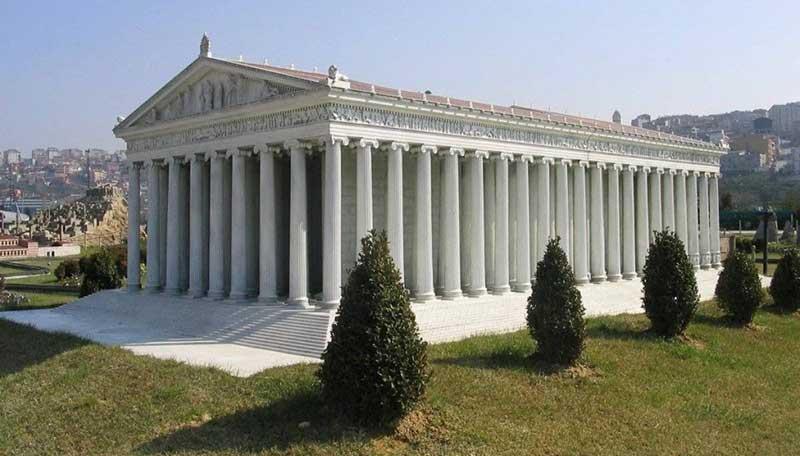 معبد آرتمیس متعلق به ایران باستان در ترکیه