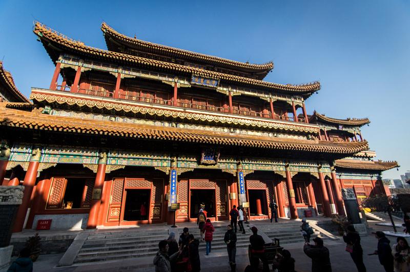 معبد لاما بزرگ ترین و زیباترین لاماسری چین
