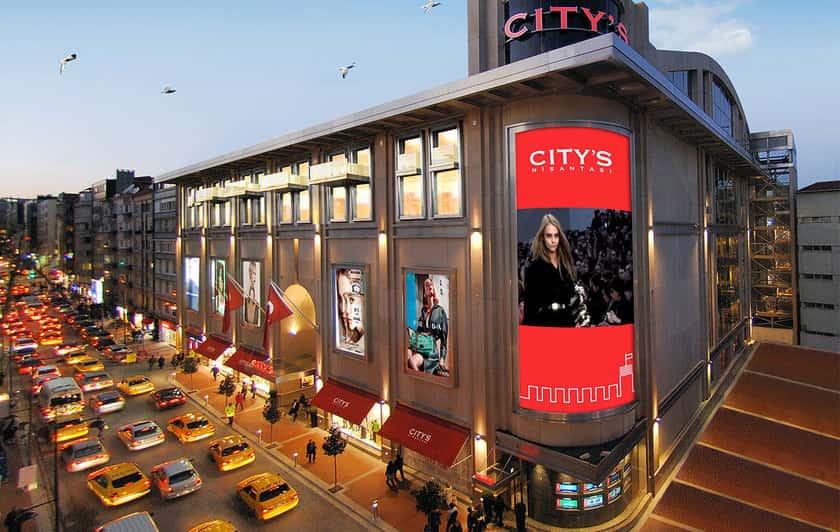 لذت خرید در مرکز خرید سیتیز نیشانتاشی استانبول
