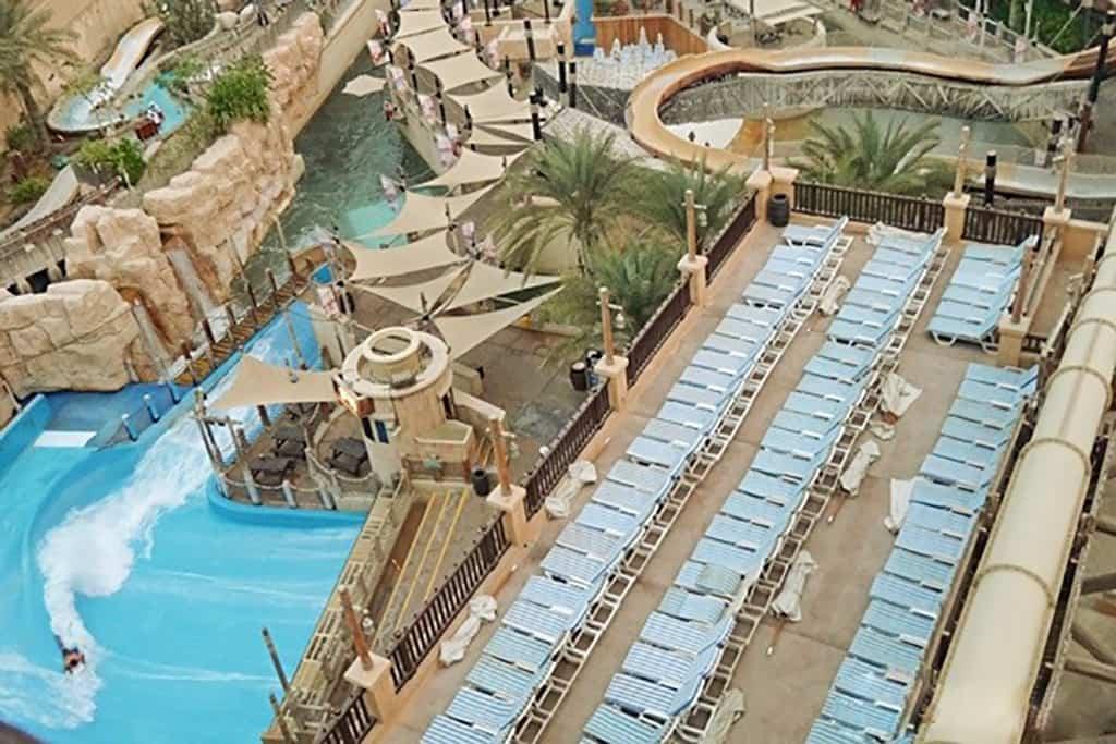 یک روز خنک در وایلد وادی پارک آبی دبی