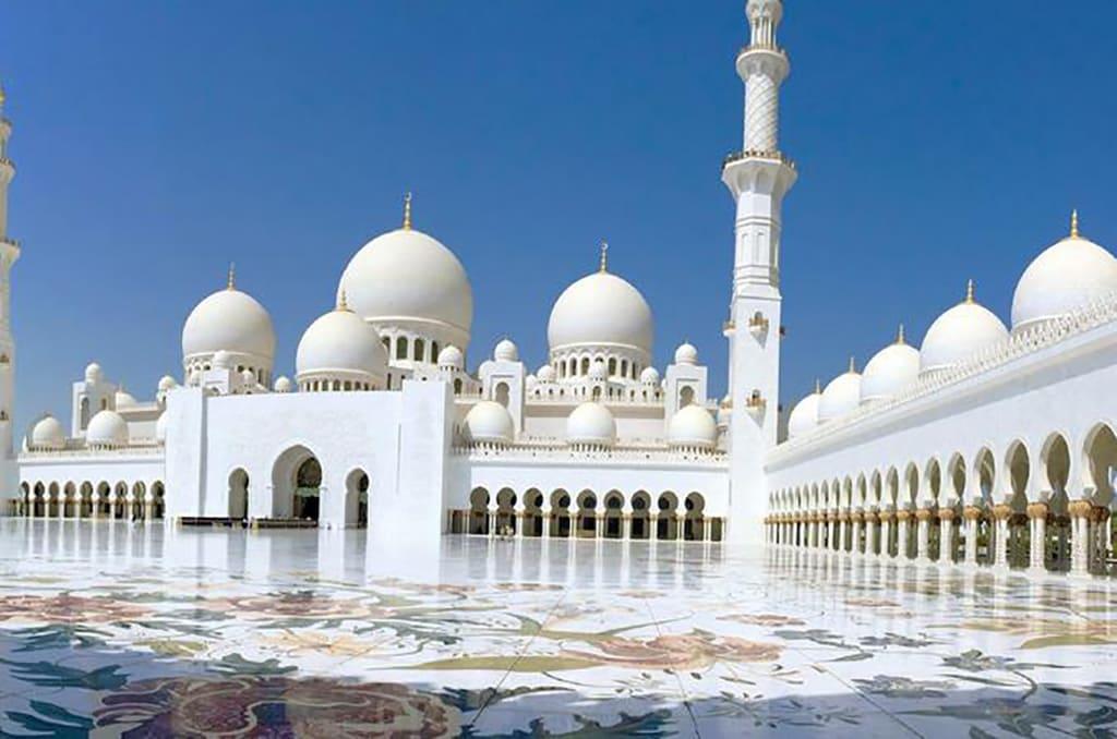 مسجد جمیرا دبی مسجدی با معماری تلفیقی