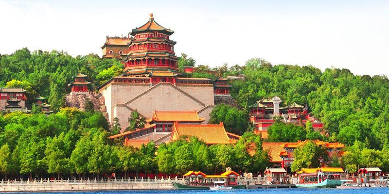 کاخ تابستانی پکن یک باغ امپراتوری