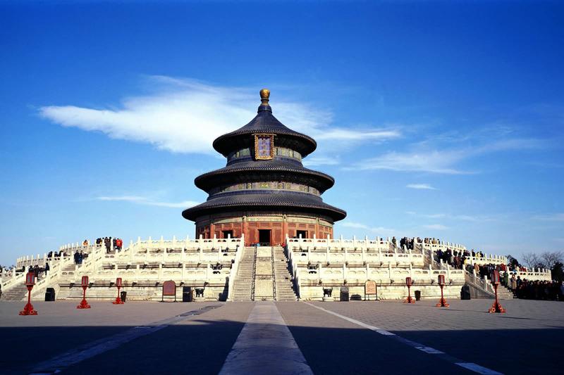 معبد بهشت پکن از مقدس ترین معابد امپراطوری چین