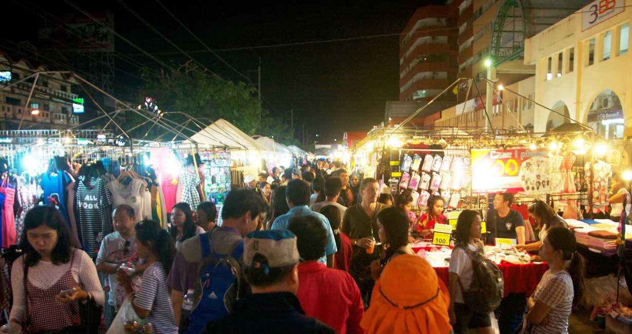 تپراسیت بازار آخر هفته و شبانه در پاتایا