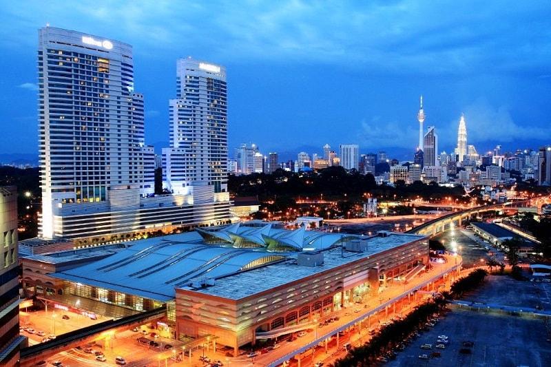 کی ال سنترال مالزی مجموعه ای از هتل ها، رستوران ها و مراکز خرید