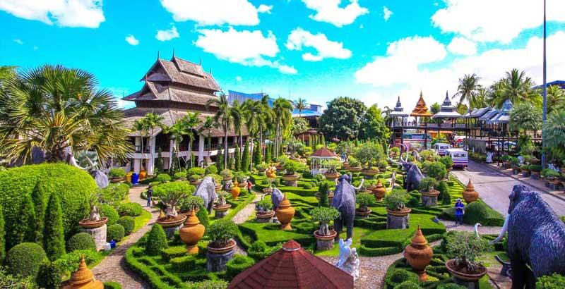 نانگ نوچ پاتایا بزرگترین باغ گیاه شناسی و گرمسیری تایلند