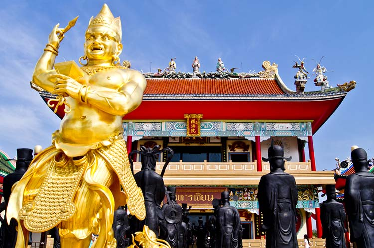 آنک کوسون سالا پاتایا موزه و عبادتگاه خدایان چینی
