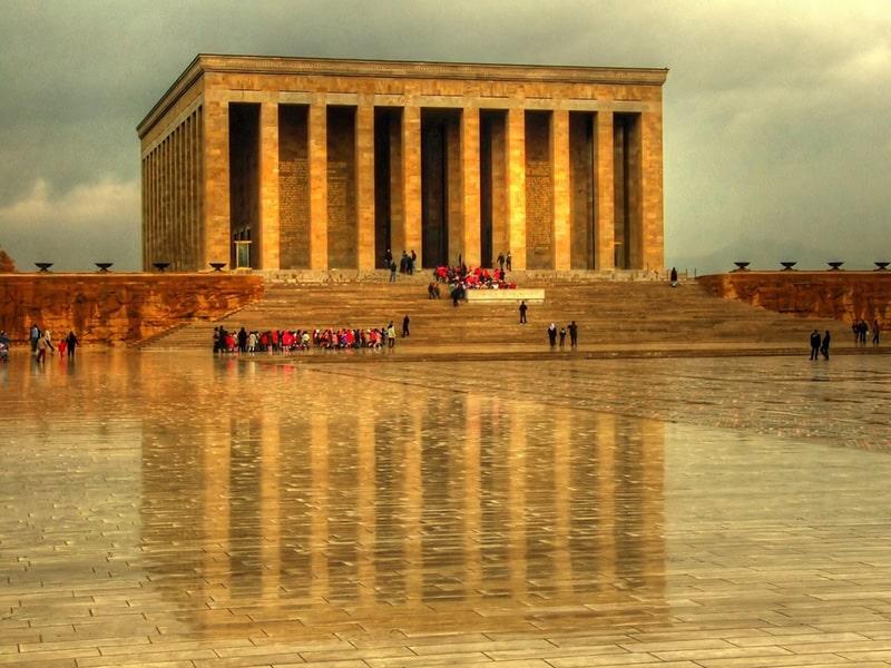 آنیت کبیر آرامگاه تاریخی بنیانگذار ترکیه