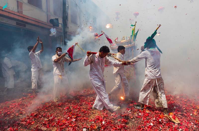 جشنواره گیاه خواری در پوکت