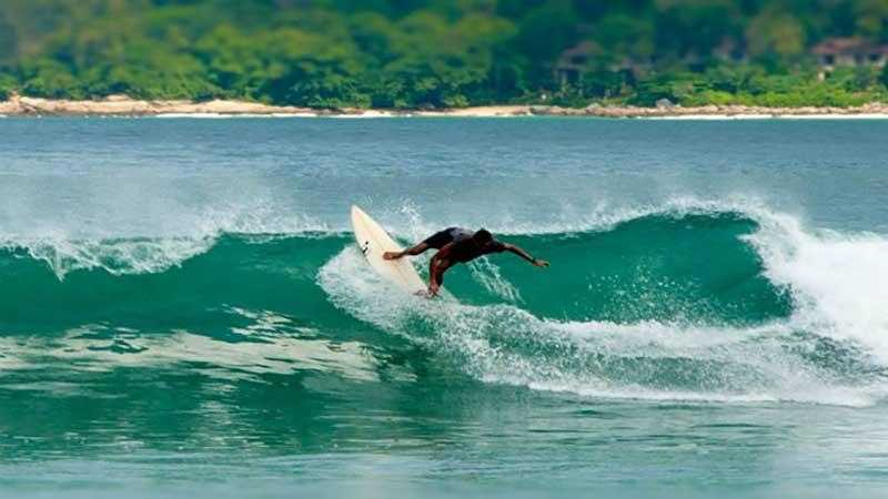 موج سواری با کایت در پوکت