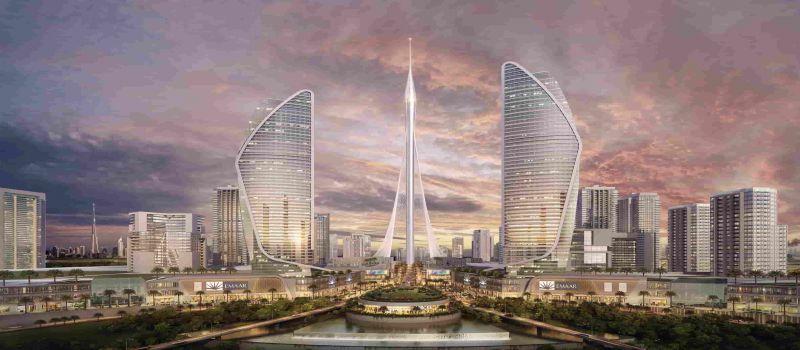 برج نظاره دبی ترکیبی از هنر و هندسه