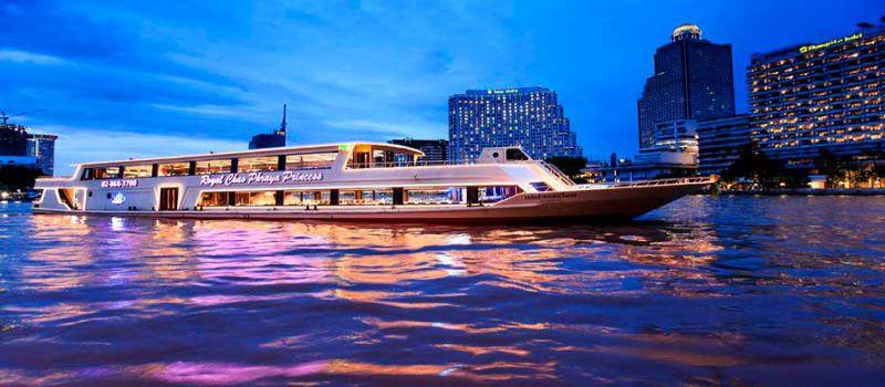 بهترین کروزهای شام تایلند در رودخانه چائو فرایا بانکوک