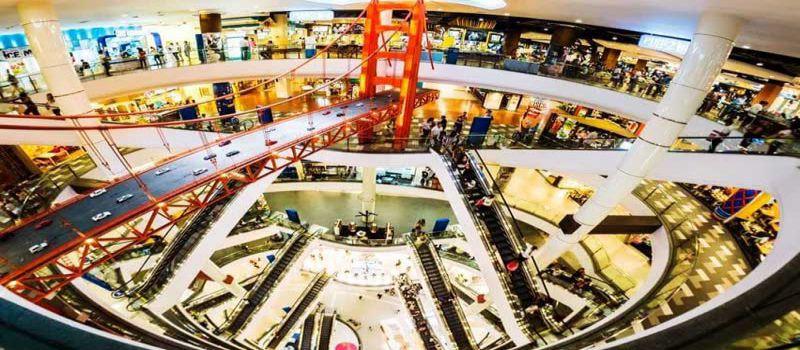 مرکز خرید ترمینال 21 بانکوک، پاساژی شبیه به فرودگاه