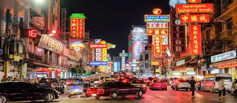 بازار محله چینی ها در بانکوک