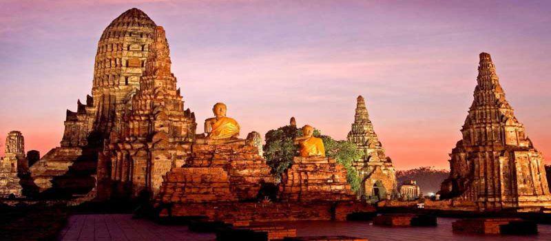شهر تاریخی آیوتایا مرکز تجارت جهانی در تایلند