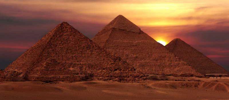 اهرام مصر و تصاویر دیده نشده هرم بزرگ