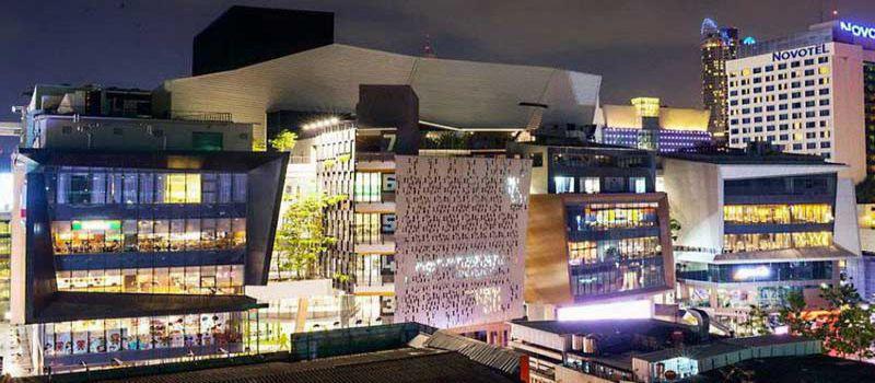 مراکز خرید سیام اسکوئر بانکوک - تایلند
