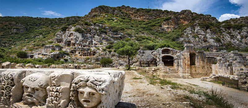 شهر میرا شهری باستانی در آنتالیا