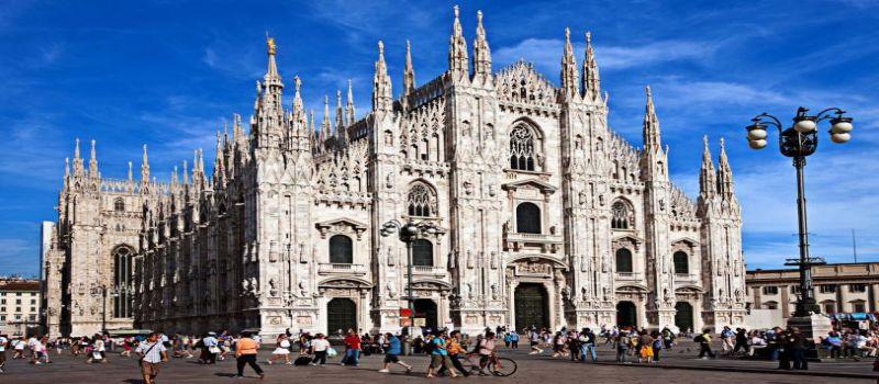 کلیسای جامع میلان کلیسایی که ساخت آن 6 قرن طول کشید