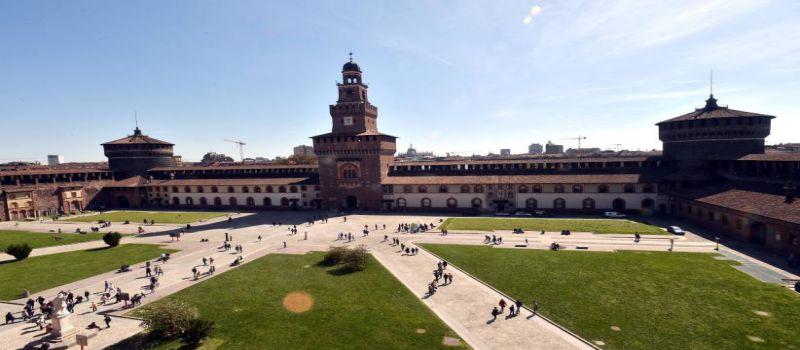 قلعه موزه اسفورزا در میلان