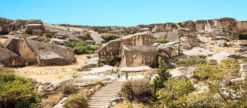 قبوستان باکو، پارک ملی سنگ نگاره های تاریخی