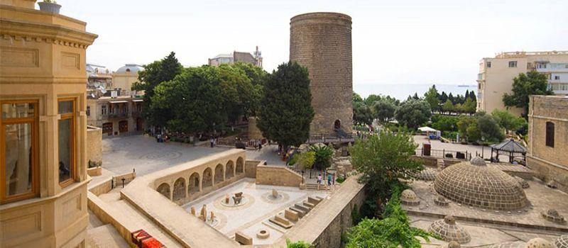 قلعه دختر باکو عبادتگاه آناهیتا و زرتشتیان