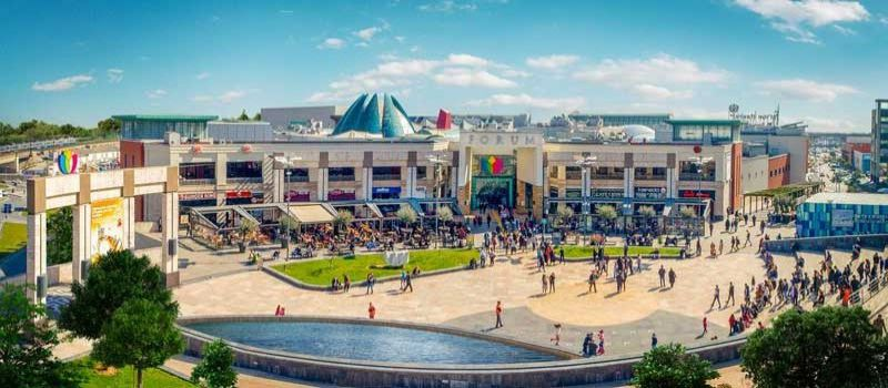 مرکز خرید فروم استانبول با 11 بخش تفریحی