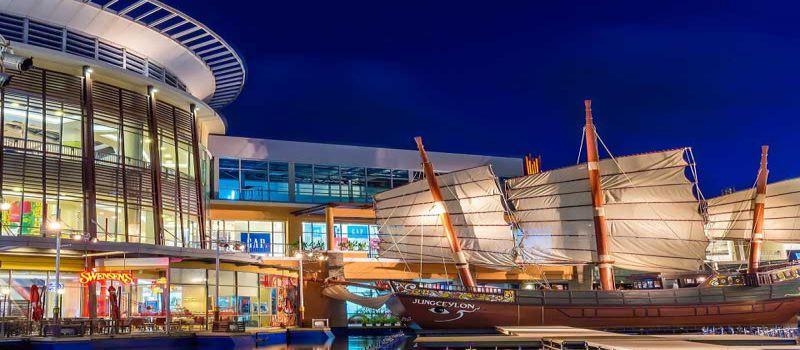 مرکز خرید جانگ سیلون بزرگترین پاساژ پوکت تایلند