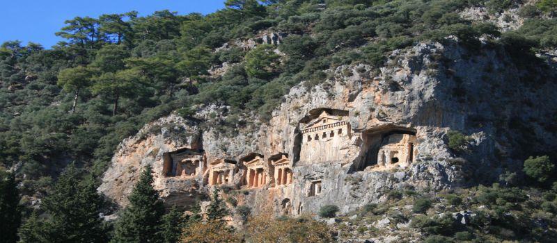 مقبره لیسیان یا مقبره های کاریان در مارماریس