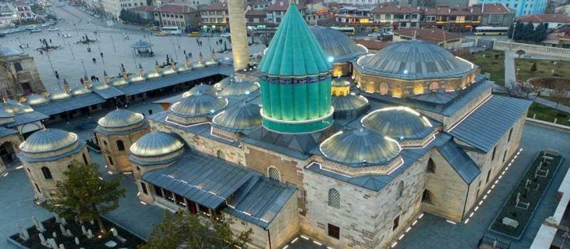 موزه و آرامگاه مولانا جلال الدین محمد بلخی