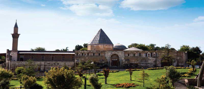 تپه و مسجد علاء الدین در قونیه ترکیه