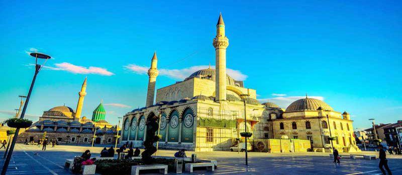 مسجد کاپو از بزرگ ترین مساجد عثمانی قونیه