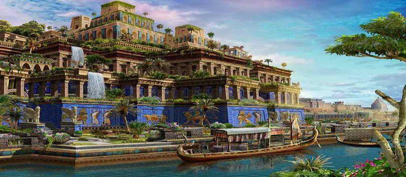 باغ های معلق بابل افسانه باستانی یا واقعیت !