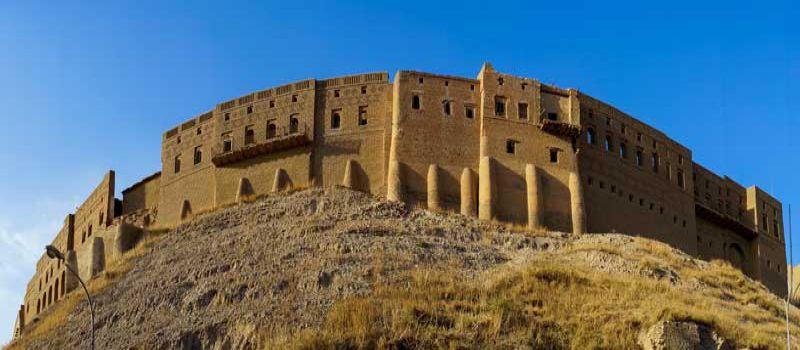 ارگ اربیل عراق قدیمی ترین قلعه جهان