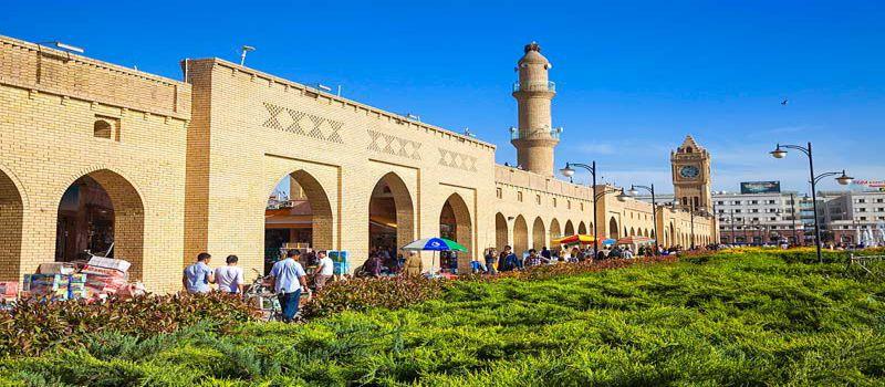 بازار قیصریه اربیل عراق برای خرید ارزان
