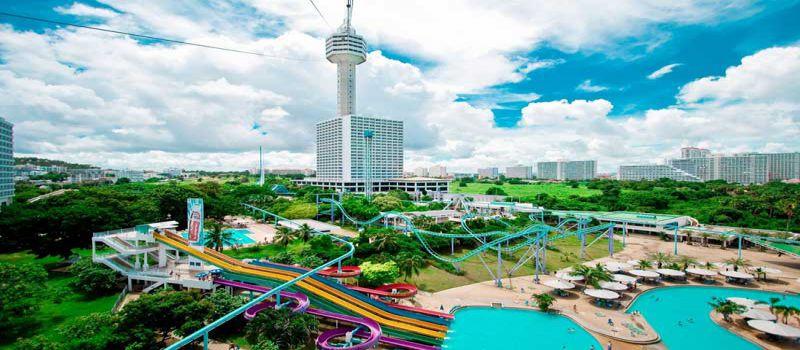پاتایا پارک مجموعه ای با تفریحات آبی و شهربازی