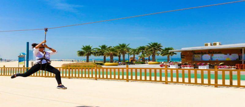 ساحل کایت بیچ در دبی