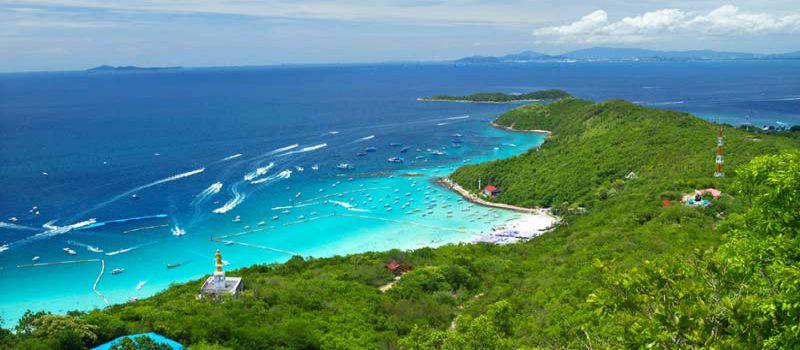 جزیره مرجانی پاتایا منطقه ای توریستی در تایلند