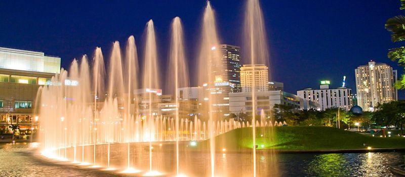 پارک کی ال سی سی کوالالامپور سمفونی آرامش
