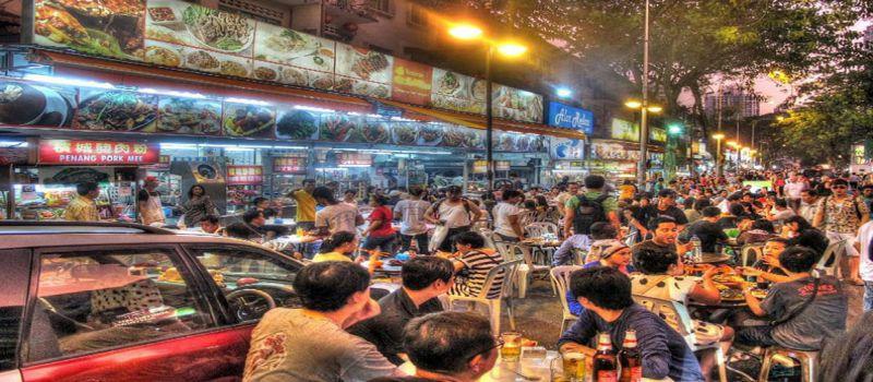 بوکیت بینتانگ مالزی بهترین خیابان کوالالامپور