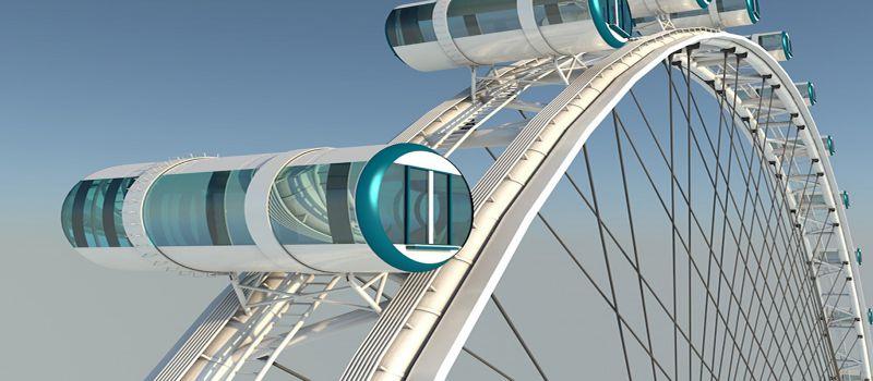 چرخ و فلک سنگاپور بزرگترین چرخ و فلک آسیا