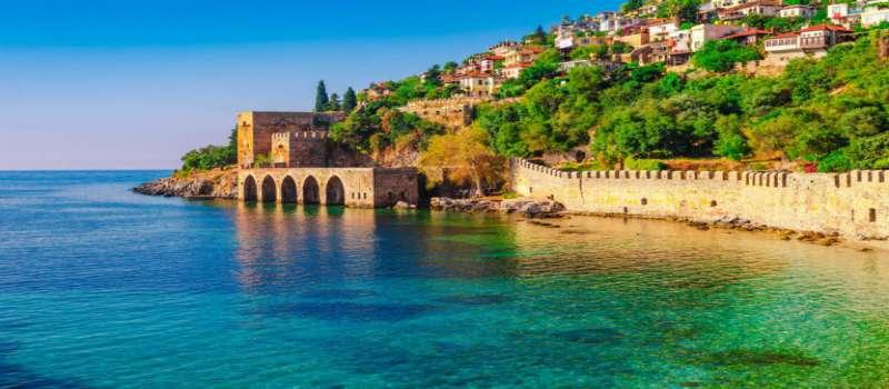 سواحل ماسه های طلایی Golden Sands آنتالیا ترکیه