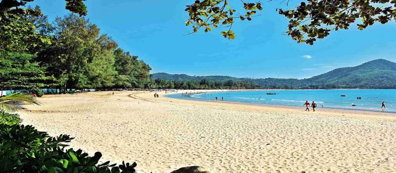 ساحل کامالا در پوکت تایلند