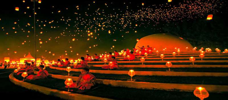 جشنواره لوی کراتونگ در پوکت تایلند