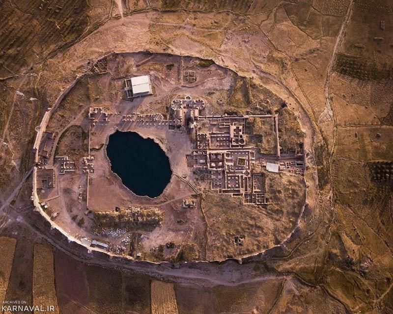 دریاچه تخت سلیمان کجاست