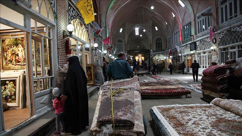 بازار تبریز بزرگترین بازار سرپوشیده ایران