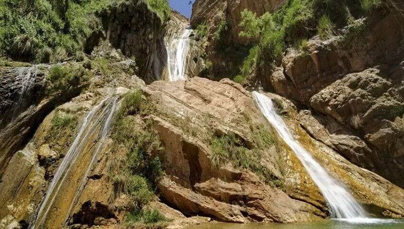 آبشار آب سفید، عروس آبشارهای ایران!
